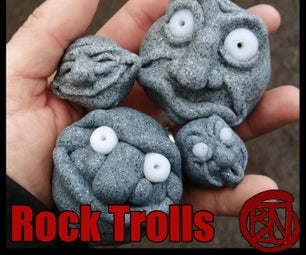 Rock Troll/stone Faces