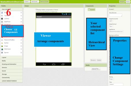Android App Development for Password Protected Door Lock
