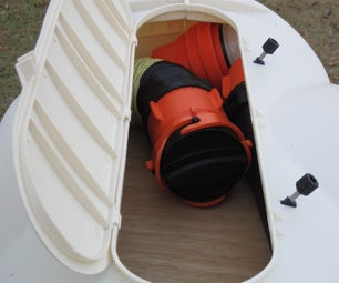 Storage for Assembled RV Sewer Hose