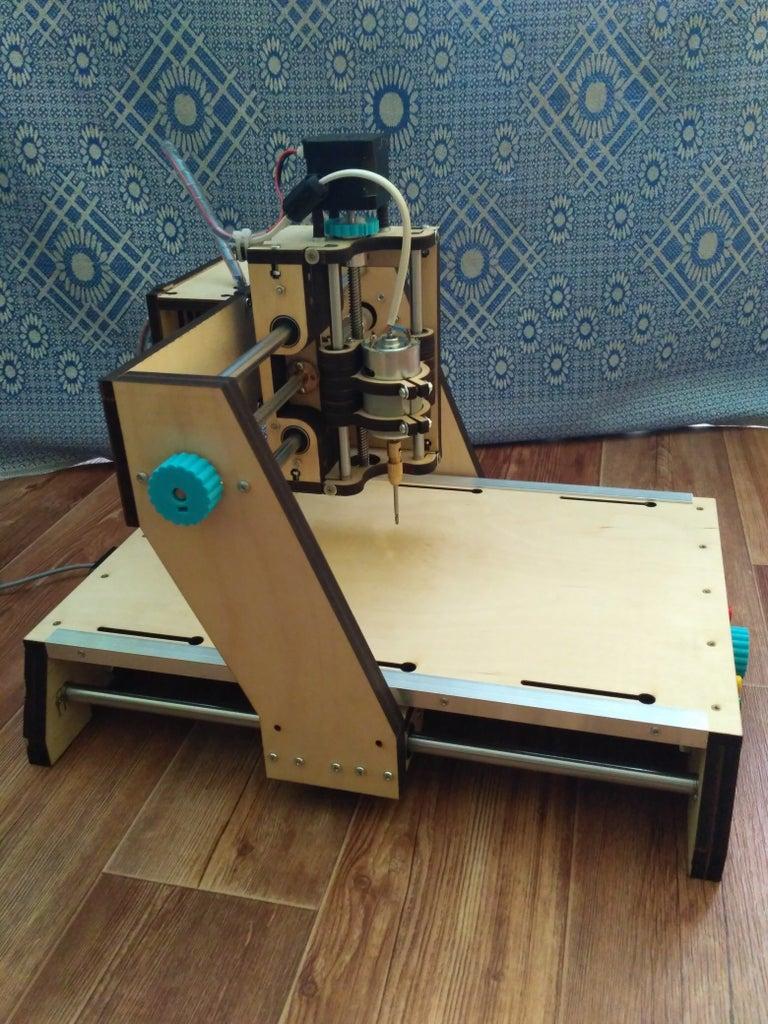 Desktop CNC Milling Machine (чпу Фрезер)