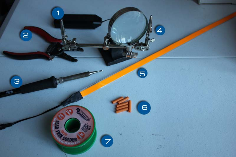 How to Attach (or Reattach) EL Tape (Electroluminescent Tape)