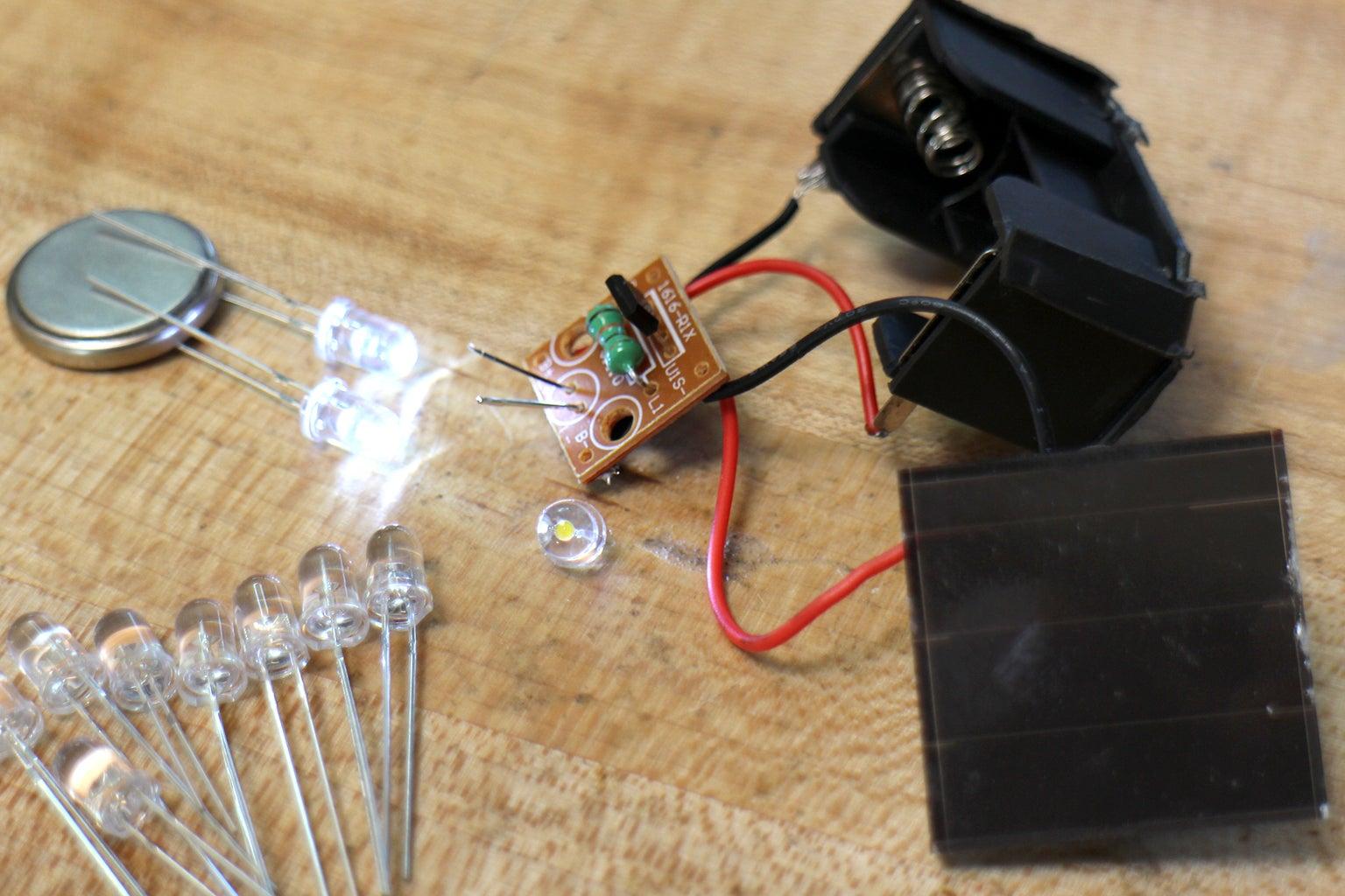 Modify LED Lights to Have More LEDs
