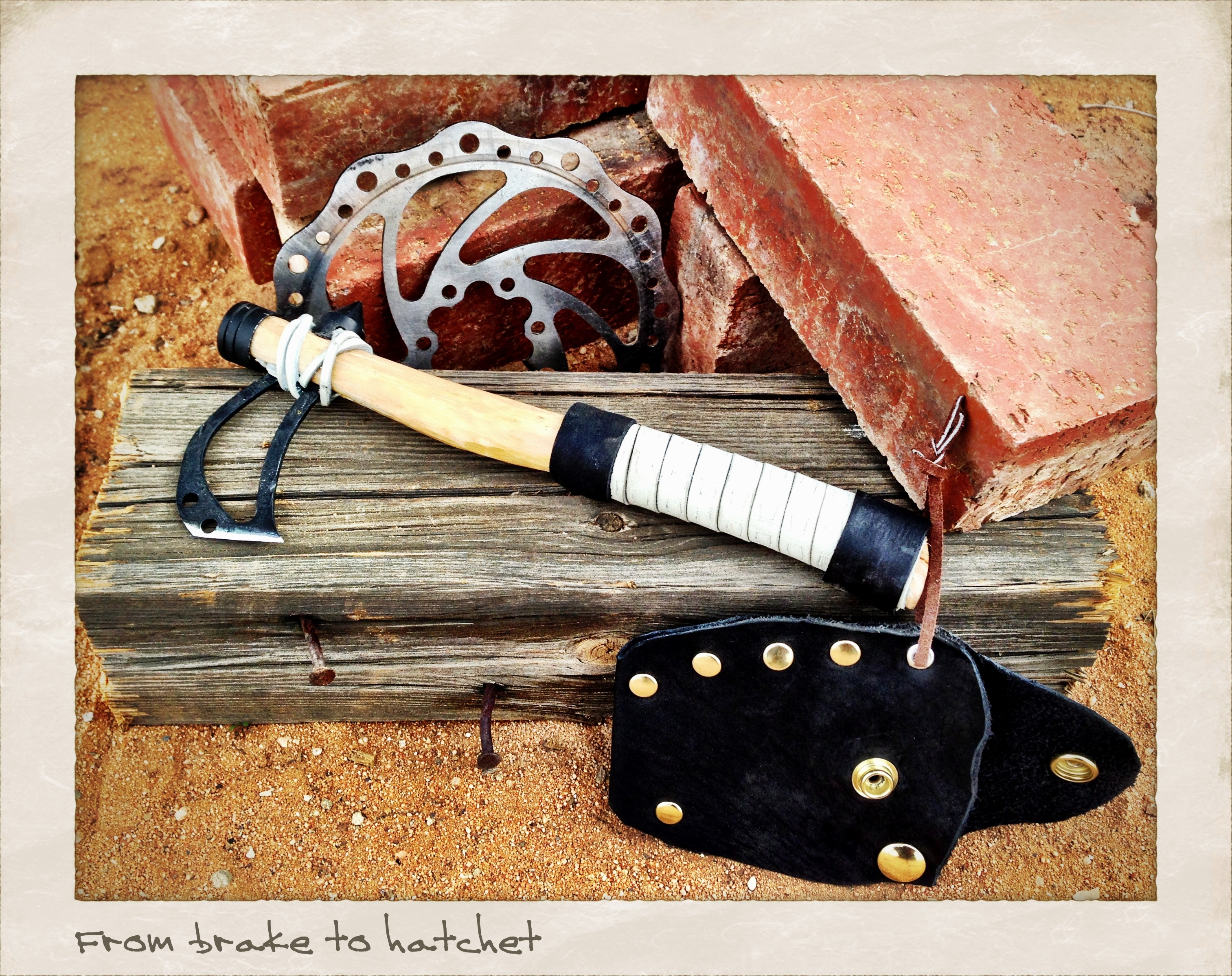 Build A Disc Brake Utility Hatchet