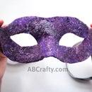Wet Felted Masquerade Mask