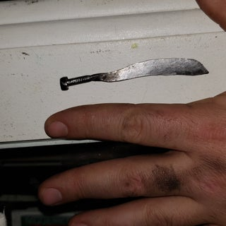 KNIFE FROM a NAIL