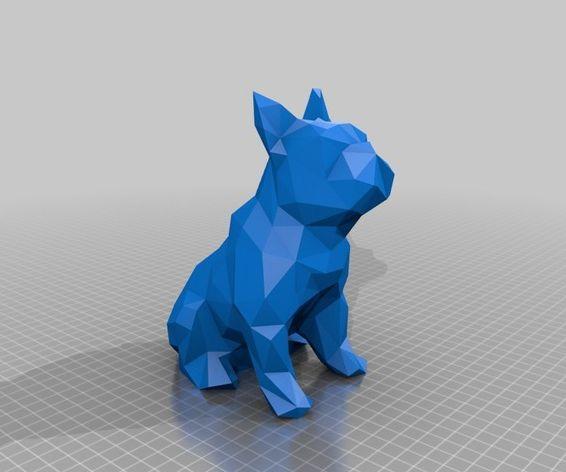 Bulldog Papercraft