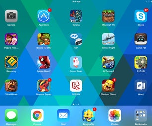 How to Make Your Ipad Screen Cool (Check This Picture After Instructions)