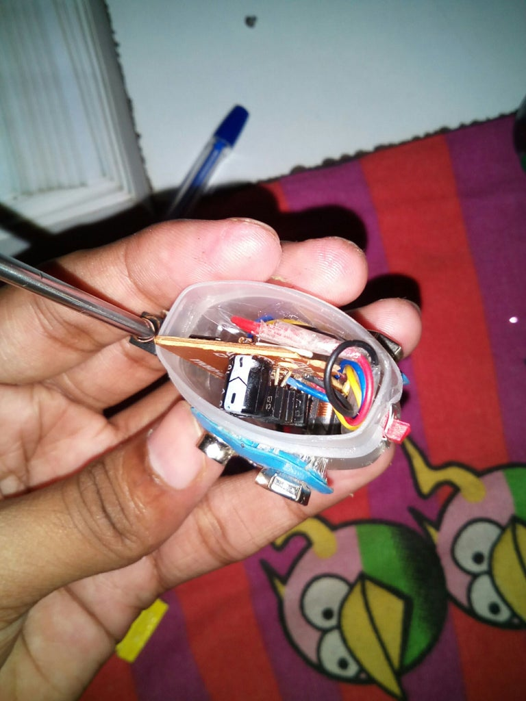 Making the Remote Control Receiver and Transmitter.