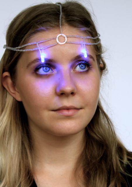 How to make an LED headdress