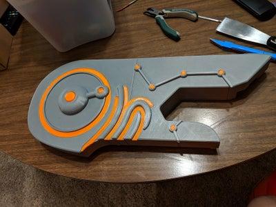 3d Printing (with Transparent Filament)