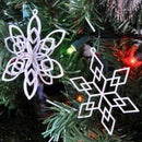 How to Make a 3D Printed 6 Pointed Snowflake