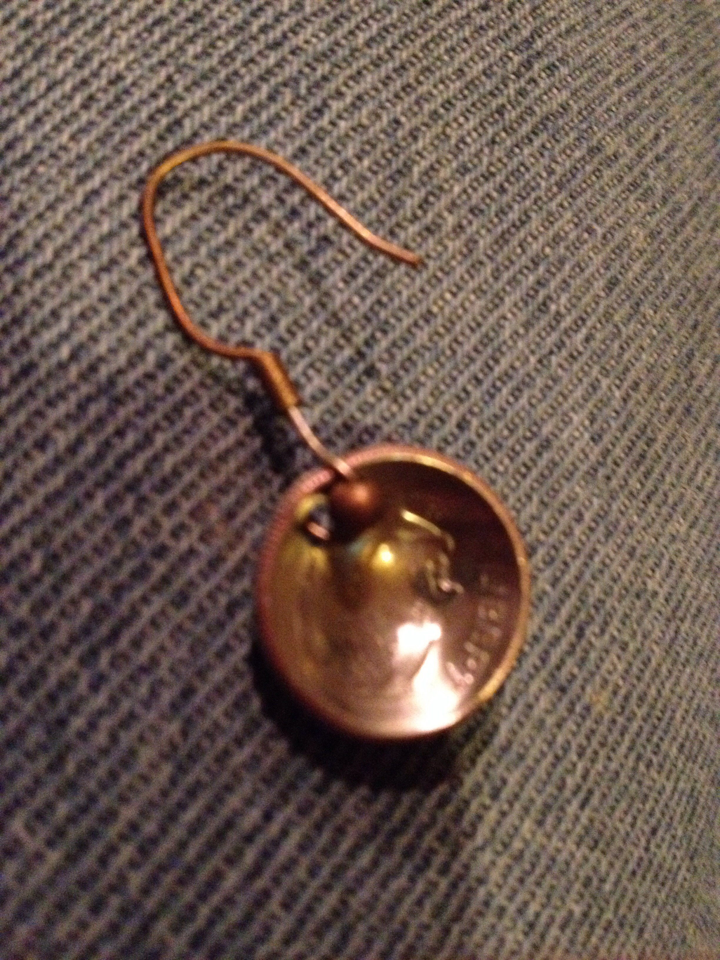 Double Sided Coin Earrings
