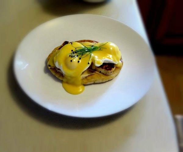 Mediterranean Eggs Benedict