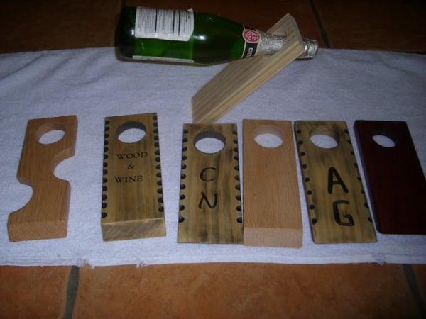 Wood Wine Holders