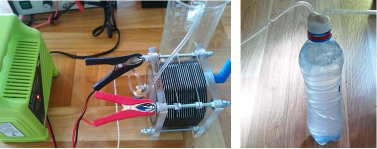 Test of Electrolyser Module