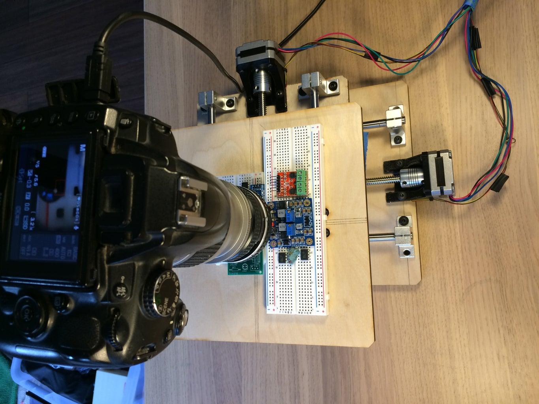Desktop Gigapixel Microscope