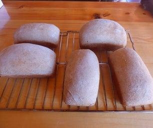 全麦小麦面包