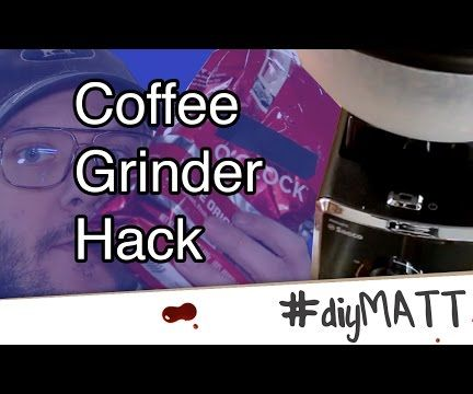 Coffee Grinder Hopper Hack for More Bean Storage