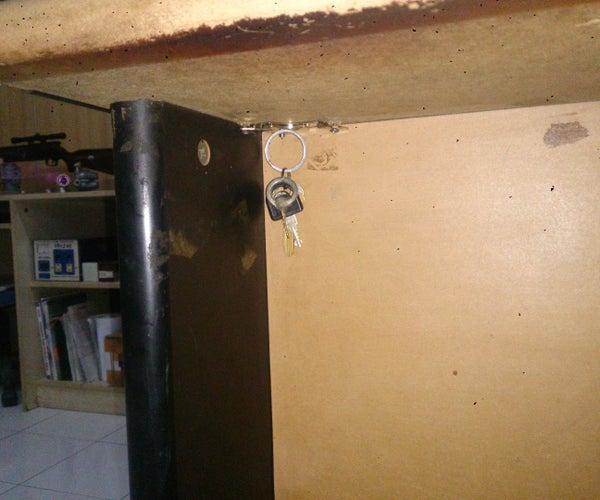Hidden Magnetic Key Holder