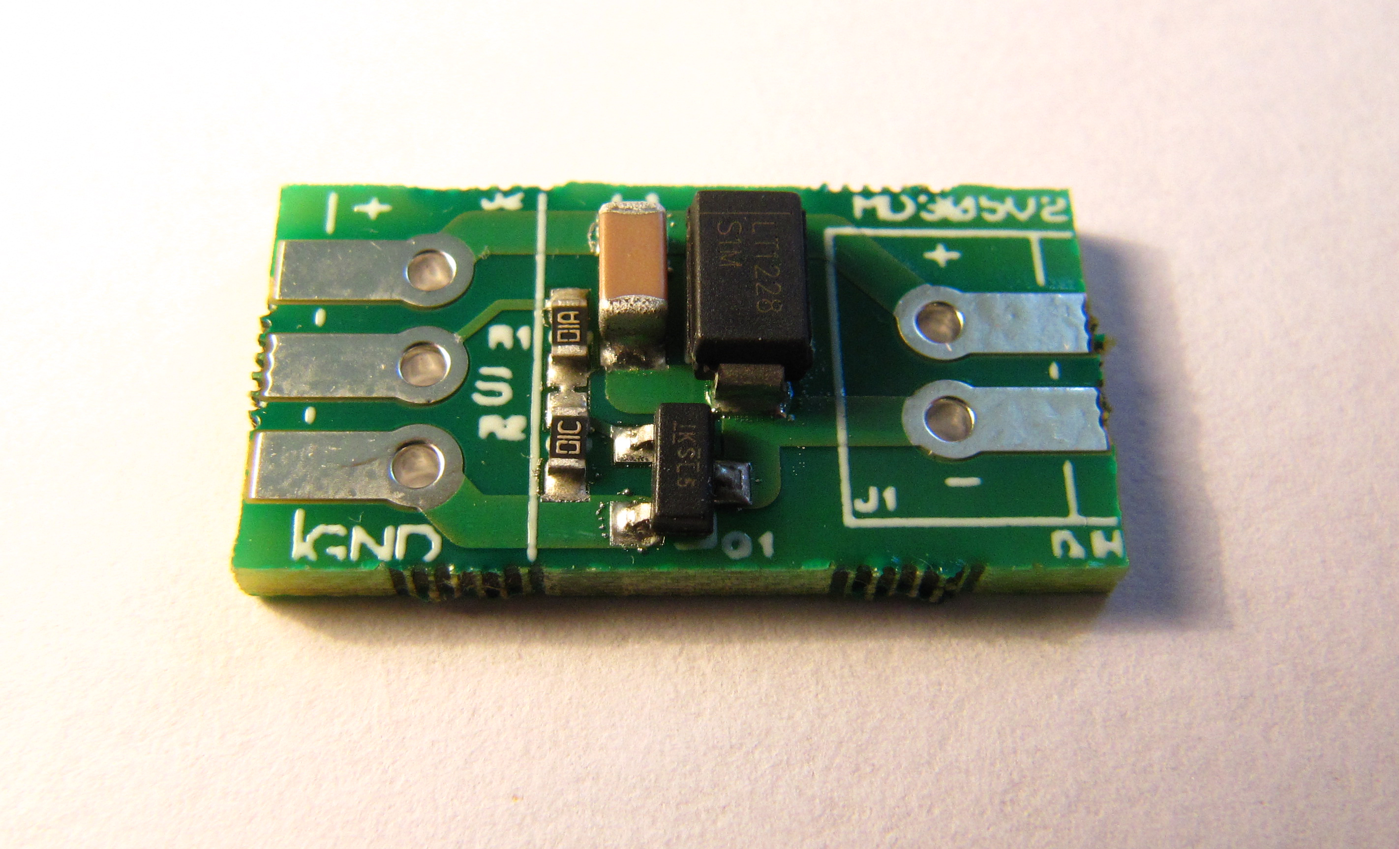Soldering an SMT MOSFET Driver with a hotplate