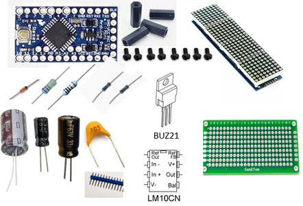 Electronic Components List