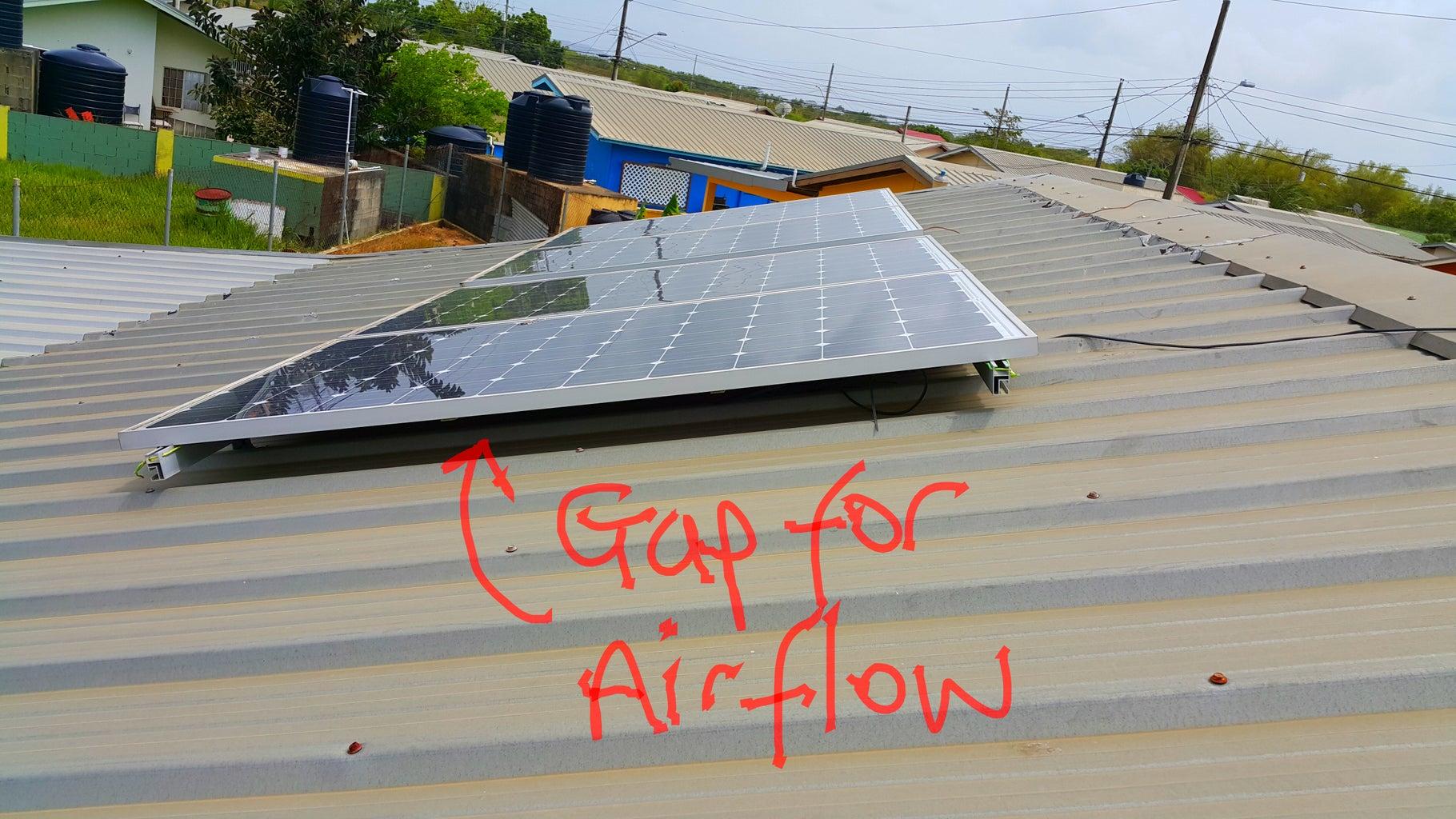Solar Panels for Harvesting Sunlight.