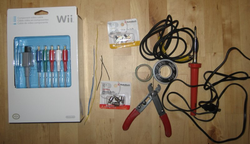 Nintendo Wii combo Component/Composite Cable