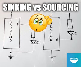 Sinking Vs Sourcing Current in Arduino