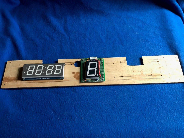 Electronic Scoreboard Design