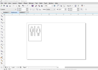Designing the Signs in CorelDRAW
