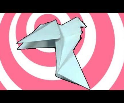 Origami Pigeon (Dove)