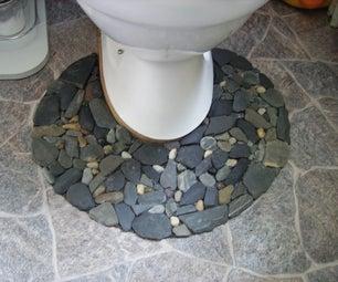 Stone / Pebble Toilet - Mat
