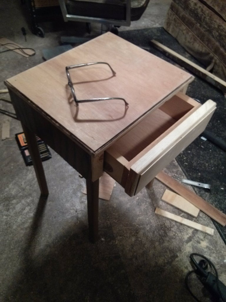 Table and Table Drawer