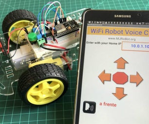 WiFi Voice Controlled Robot With NodeMCU