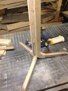 Gluing Your Legs Together and Checking for Level.