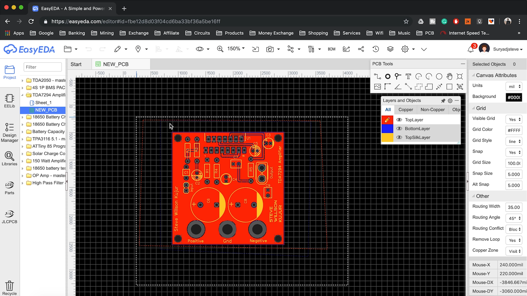 PCB Board Designing