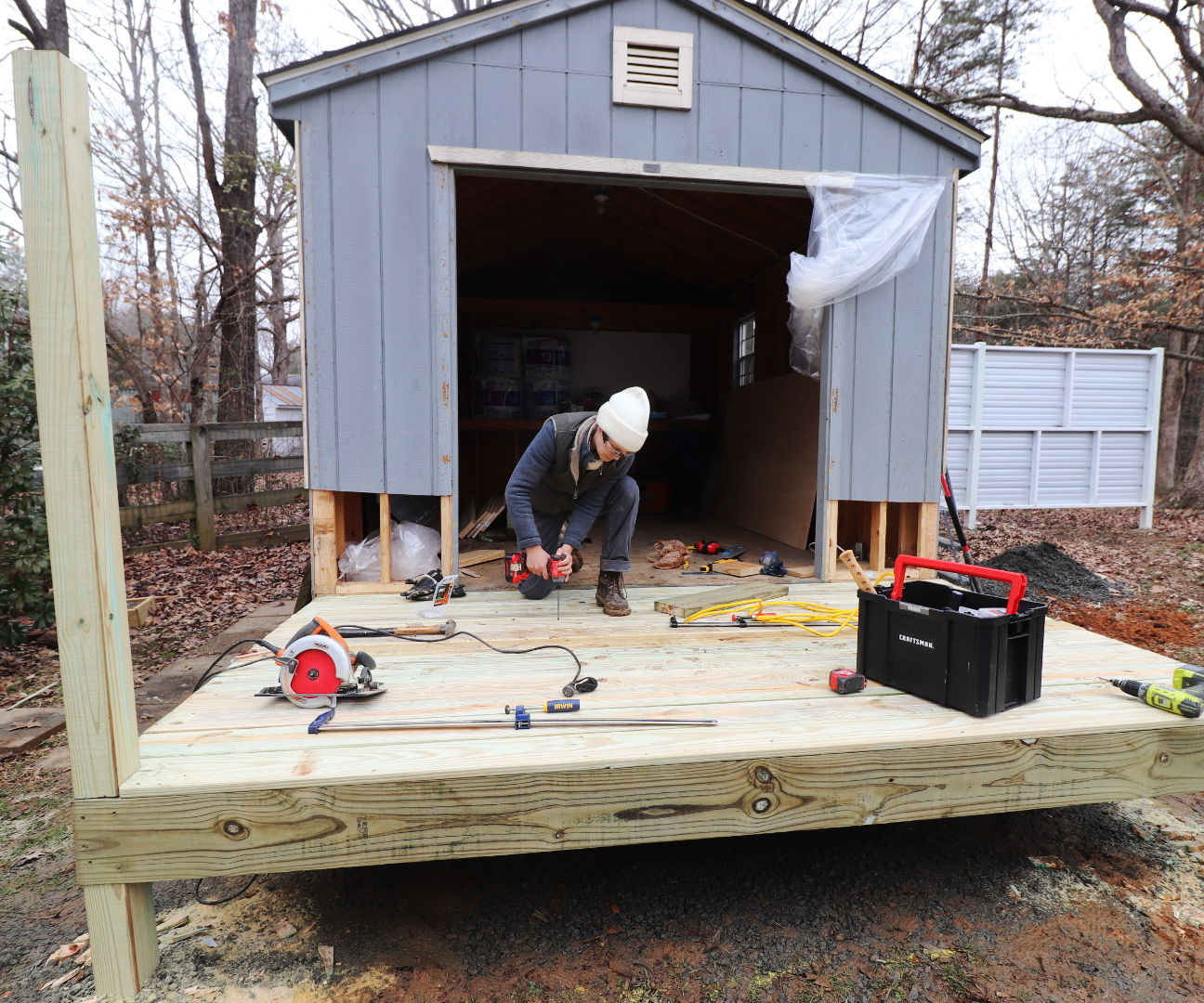 Building a Small Deck