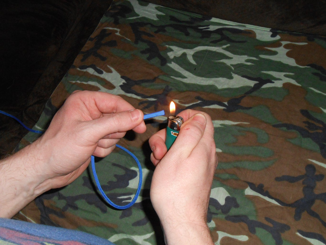 Gutting the Paracord