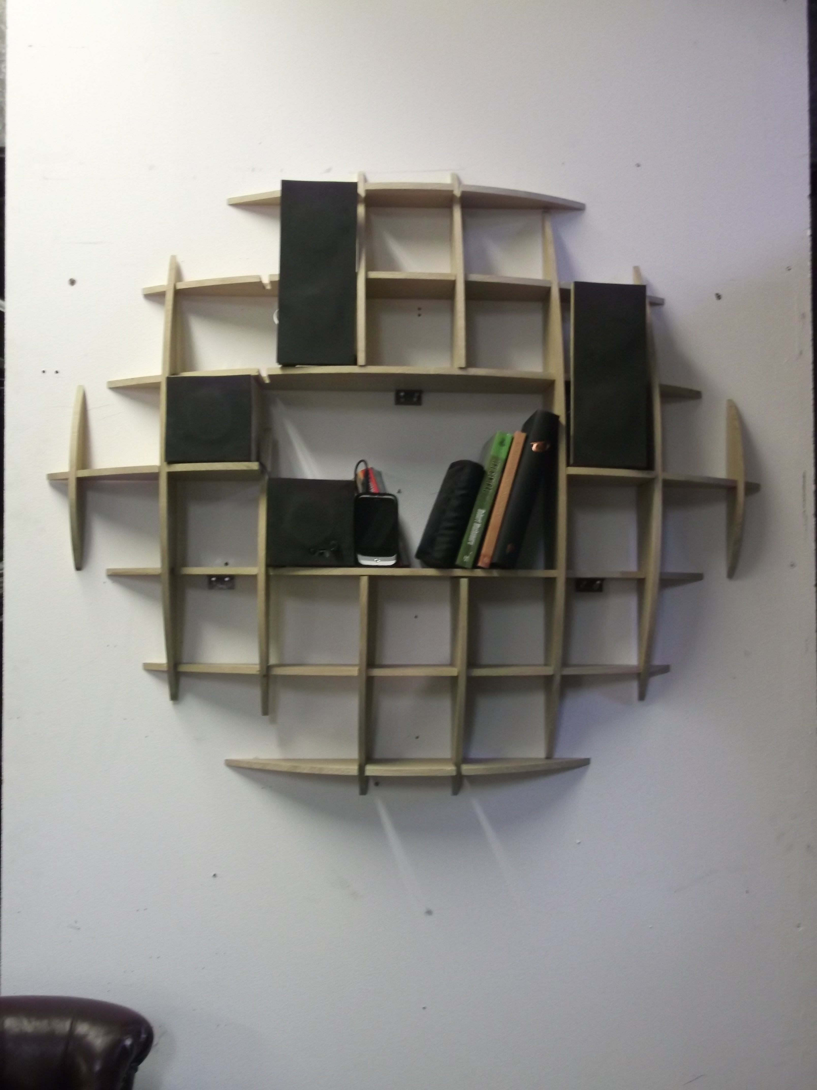 !How to Make A CD Rack!