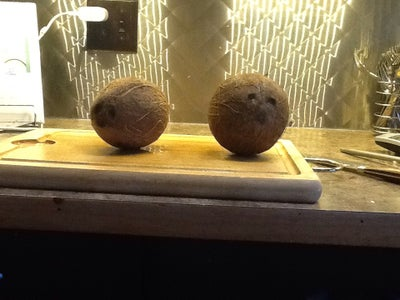 Drying Coconut