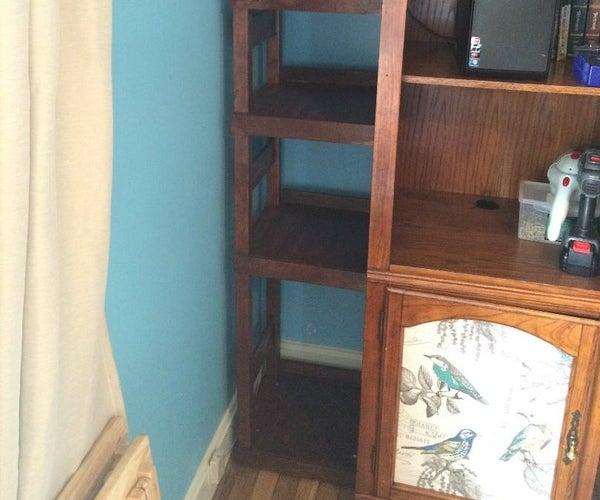 Building a Bookshelf Onto Existing Furniture