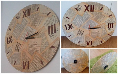 Examples of Clocks I Made Using This Same Technique