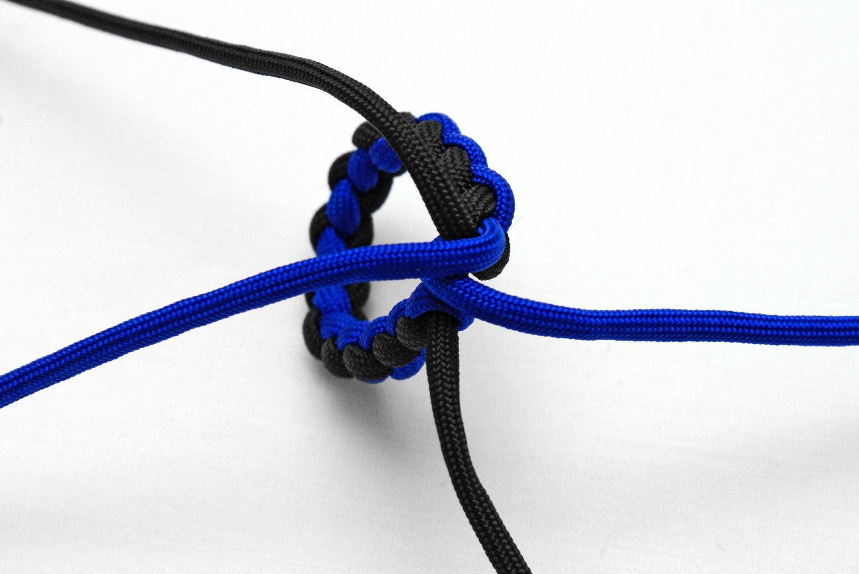 A Four Strand Round Braid Loop