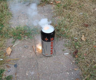 How to Melt a Hole in a Coke Can