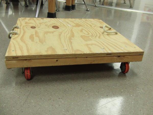 Floor Cart for Newton's Laws