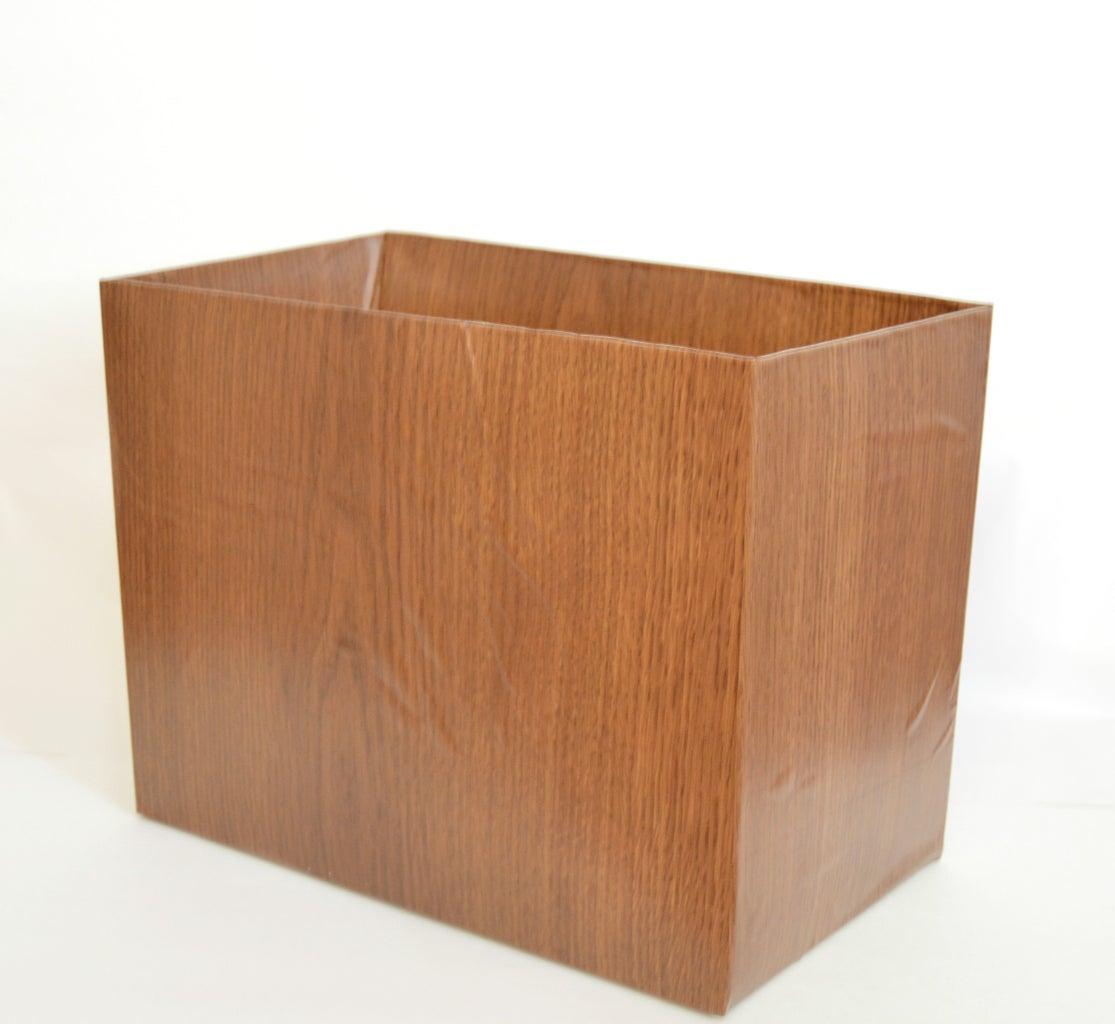 Carton or Shipping Boxes As Baskets