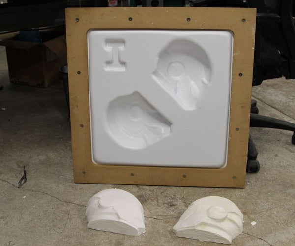 How to Vacuum Form Foam (Reusing the Same Master, Many Times)