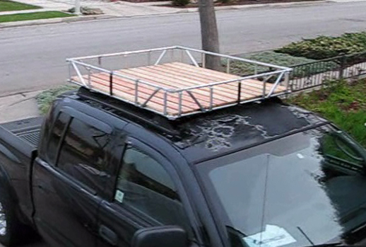 No Weld Truck Roof Rack