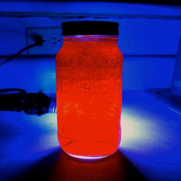 Glow in the Dark Jello!
