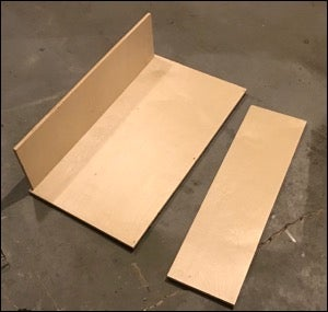 Cut Wood and Assemble Storage Box
